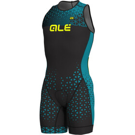 Alé Cycling Rush Olympic Tri Sleeveless Unitard Short Men black-ottanio